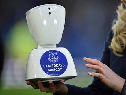 Everton Virtual Mascot: Robot Helps Seriously Ill Football Fan Make History