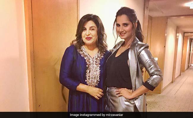 Sania Mirza's Pregnancy Announcement Got This Reaction From Farah Khan