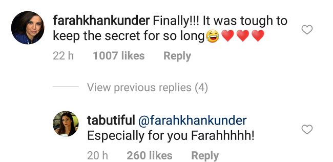 farah khan tabu comments