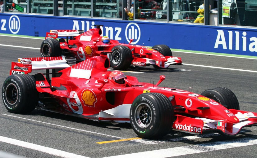 f1 ferrari leads chinese gp qualifying with front row lockout ahead of mercedes ndtv carandbike. Black Bedroom Furniture Sets. Home Design Ideas