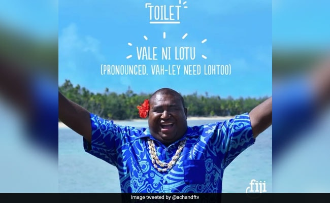 Anger As Fiji Tourism Ad Swaps 'Church' For 'Toilet'