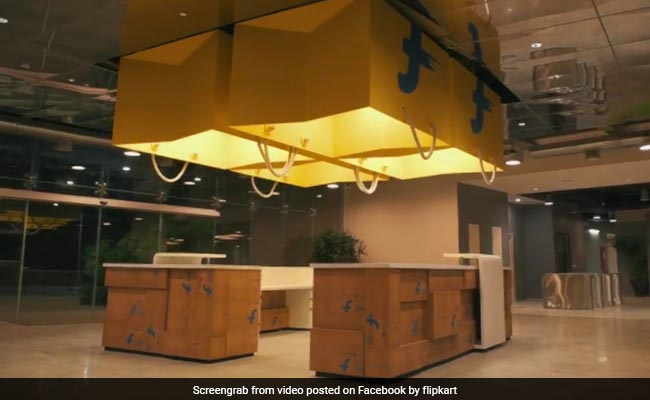 flipkart office yellow facebook