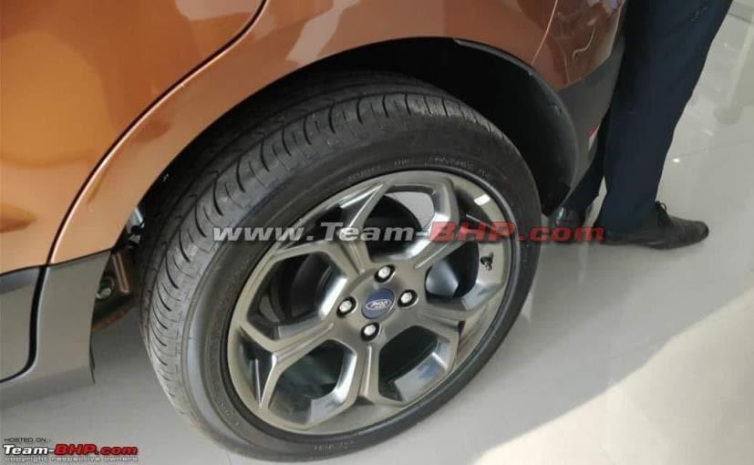 ford ecosport titanium s variant alloy wheels