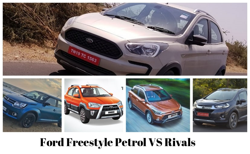 Ford Freestyle Petrol VS Rivals: Price Comparison