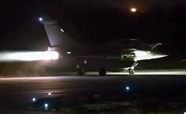 UK Jets Strike Syrian Military Facility Near Homs: Ministry