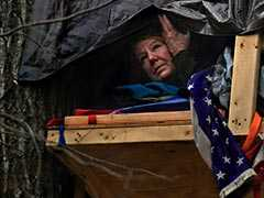 Perched On A Platform High In A Tree, A 61-Year-Old Woman Fights A Gas Pipeline