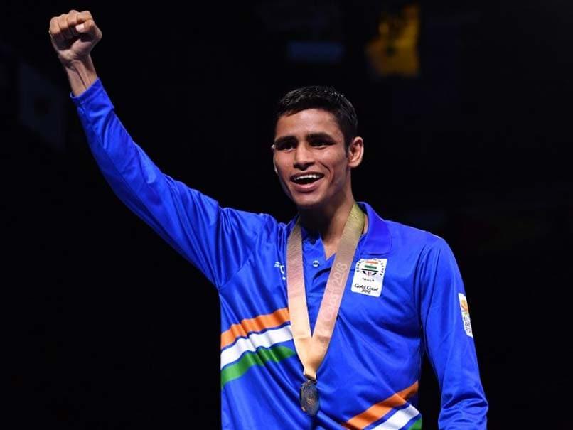 Commonwealth Games 2018: Boxers Shine As Gaurav Solanki Wins Gold; Amit Panghal, Manish Kaushik Bag Silver Medals