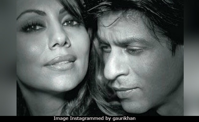 Gauri Khan's Pic With Shah Rukh Explains What 'Does The Trick' Every Time