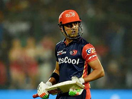 IPL 2018: Gautam Gambhir To Forego 2.8 Crore Salary, To Play The Rest Of Season For Free