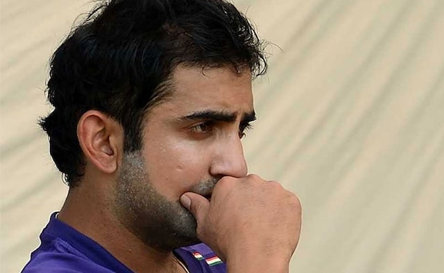 Guatam Gabhir lashes out at Indian team management the way it dropped to Ambati Rayudu from Indian team