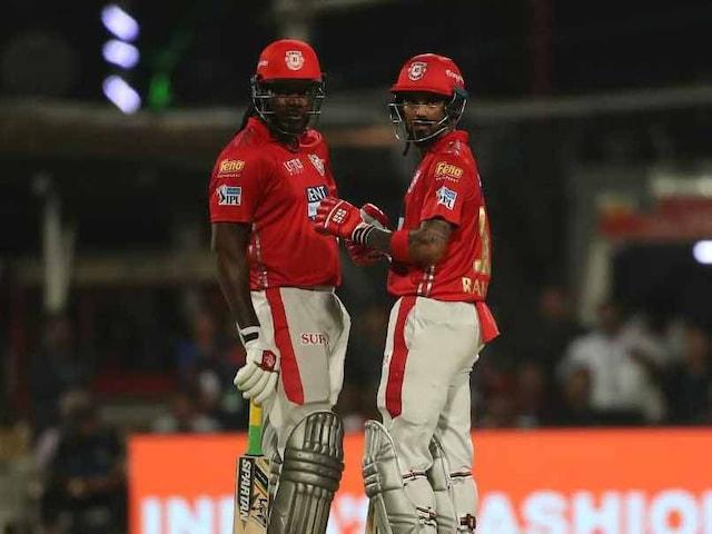 IPL 2018: Chris Gayle, KL Rahul Power Kings XI Punjab To 9-Wicket Win (DLS) Over Kolkata Knight Riders