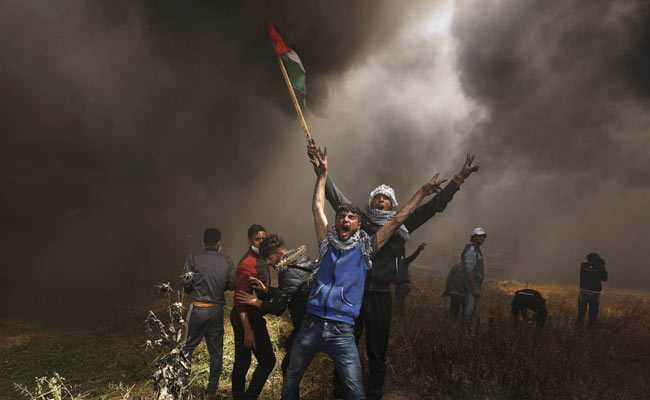 Israeli Troops Kill 7 Palestinians On Day Of Heightened Gaza Border Protests: Medics