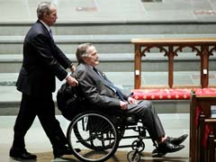 Former US President George H W Bush Removed From Intensive Care In Hospital: Office