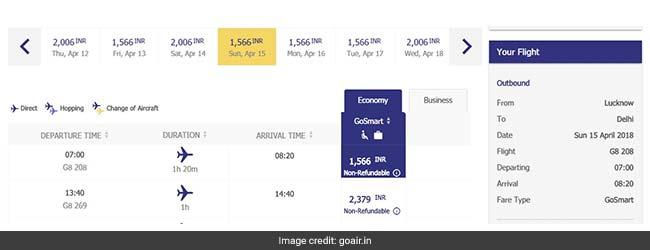 GoAir Offers Flight Tickets From Rs 1,566. Details Here