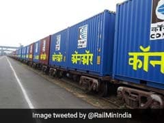 9 Wagons Of Goods Train Derail In Maharashtra