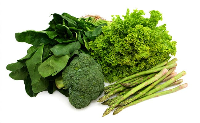 green leafy vegetables