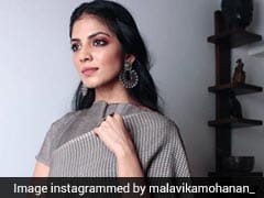Malavika Mohanan Is Anything But A Gloomy Day In This Grey <i>Saree</i>