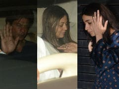 A <i>Gully</i> Party Starring Shah Rukh Khan, Gauri, Alia Bhatt, Ranbir Kapoor And Shweta Bachchan Nanda