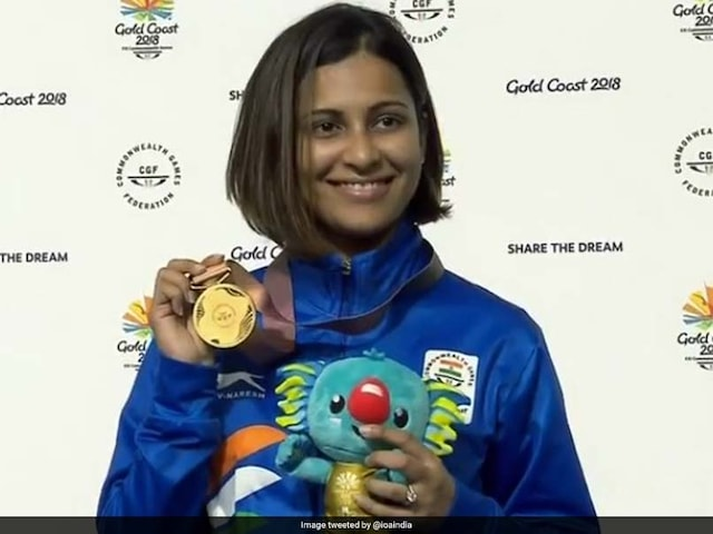 CWG 2018: Heena Sidhu Clinches Gold In Womens 25-Metre Pistol, Smashes Games Record