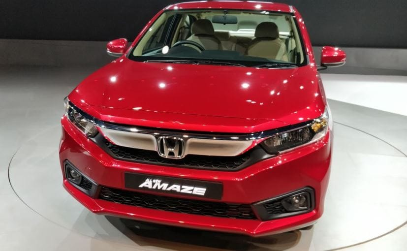 New Gen Honda Amaze To Come With A Sel Cvt Variant