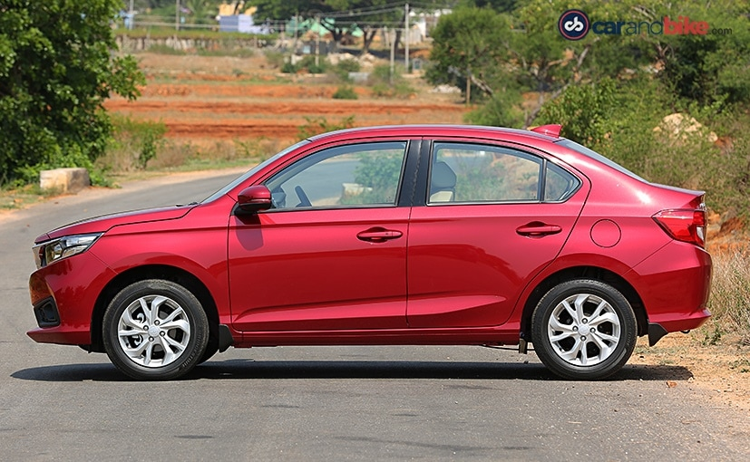 honda amaze is larger