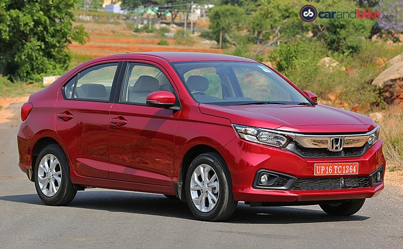 Honda Amaze comes with all-new design language with features like LED DRLs and 15-inch alloys