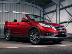 Honda CR-V Roadster Revealed; To Hit The Streets From Today