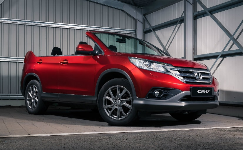Honda Cr V Roadster Revealed To Hit The Streets From Today Ndtv