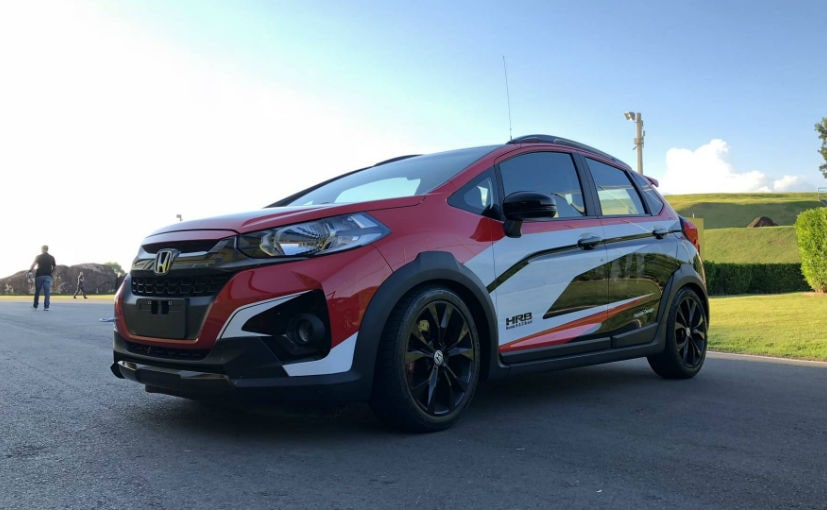 Honda WR-V Turbo Pace Car Unveiled In Brazil