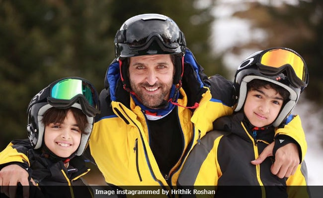 Hrithik Roshan's Making Comic Books For Sons Hrehaan And Hridhaan. (#SuperDadGoals)