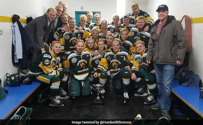 14 Killed As Junior Ice Hockey Team Bus Crashes With Truck In Canada