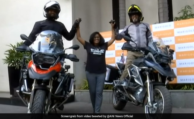 Guwahati To London: Father-Son Will Ride 17,000 Kms Across 16 Countries