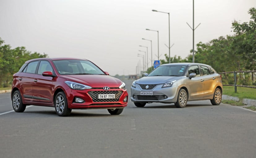 Hyundai i20 Facelift vs Maruti Baleno Comparison Reviews