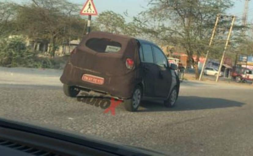 Hyundai Santro Spotted Testing Again: Launch Around Diwali ...