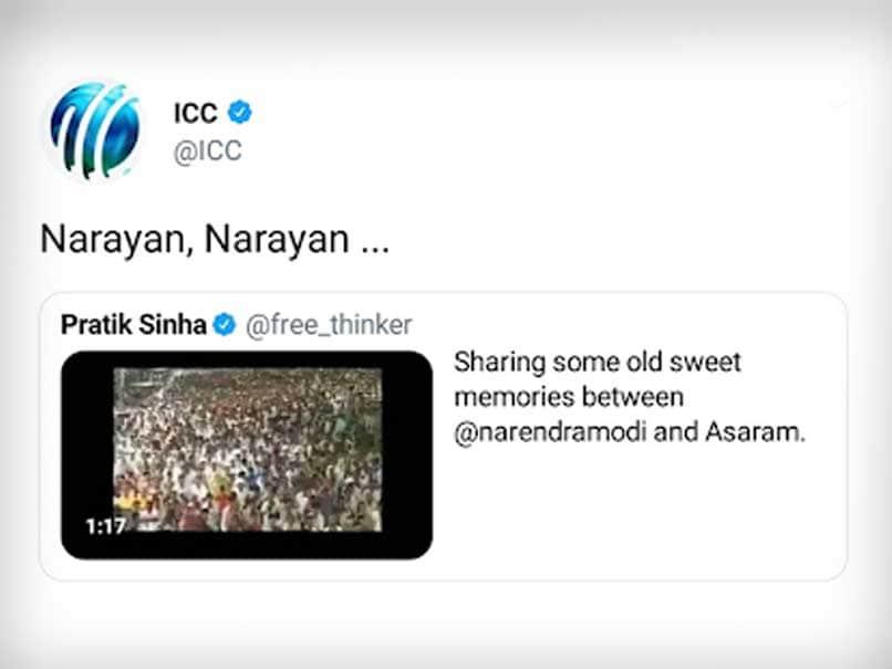 icc tweets narayan narayan