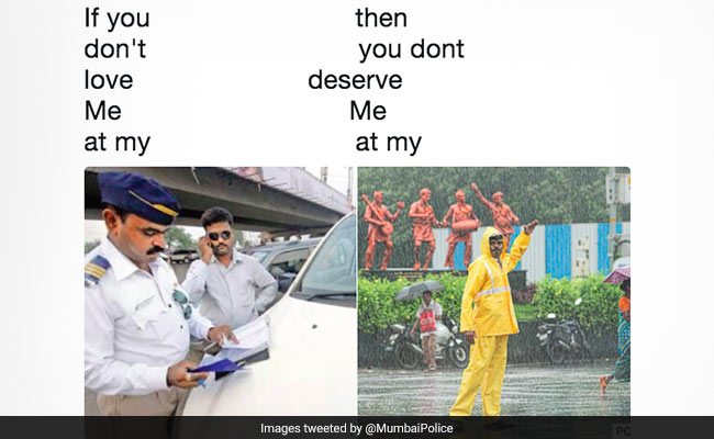 Mumbai Police Tweet 'If You Don't Love Me' Meme. It's A Hit On Twitter