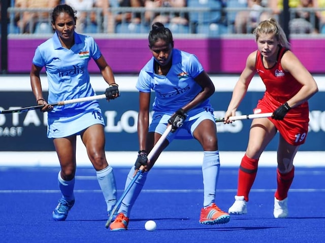 Commonwealth Games 2018: India Beat England In Womens Hockey