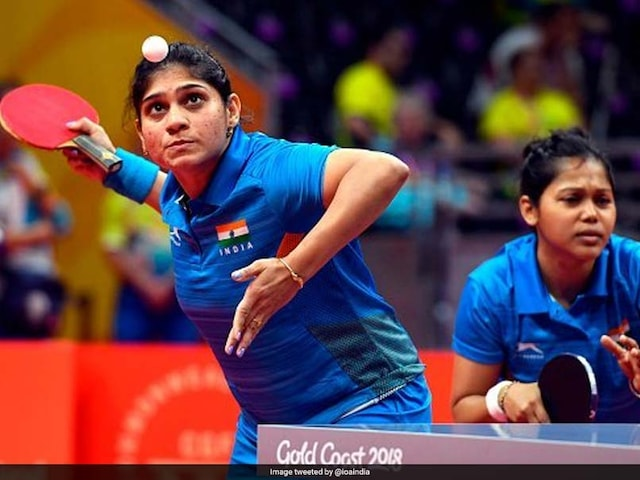 Commonwealth Games 2018: India Mens And Womens Teams Enter Table Tennis Semi-Finals