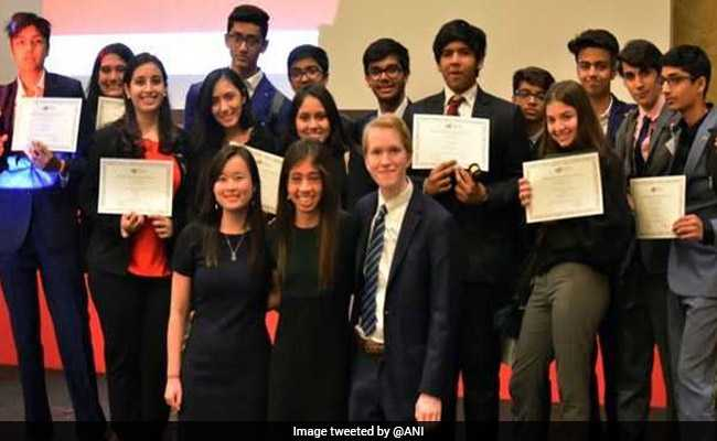 At Harvard MUN In China, Mumbai Students Win Outstanding Delegation Award