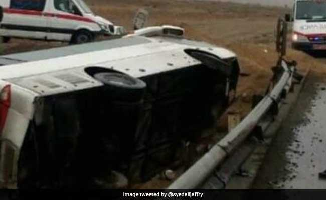 14-Year-Old Indian Killed In Iran Bus Accident, 19 Others Injured