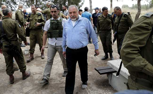 Israel Defence Minister Avigdor Lieberman Vows To Strike Any Iran 'Military Foothold' In Syria