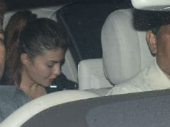 At Salman Khan's Mumbai Home, Jacqueline Fernandez And Other Celebs Spotted