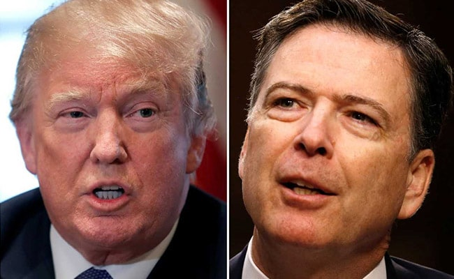james comey donald trump reuters