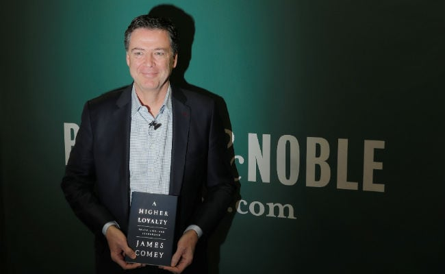James Comey's Tell-All Book