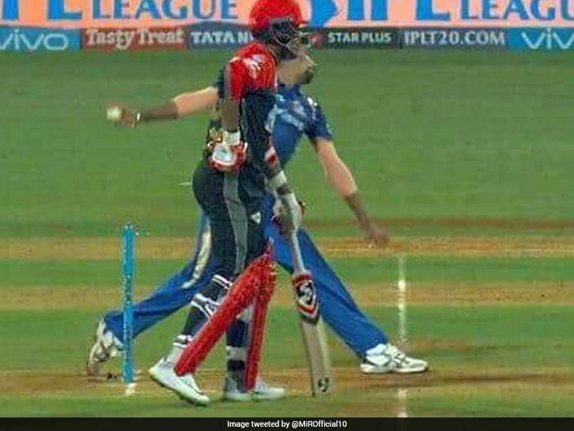 IPL 2018: Umesh Yadav Gets Out And Umpires Check For No Ball. Replay Places Batsman At Non-Striker