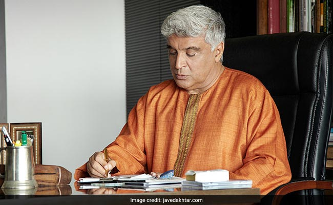 Javed Akhtar 'shocked' to find his name on Modi biopic poster