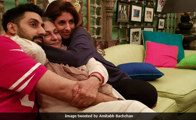 Amitabh Bachchan Shares Jaya Bachchan's 'Progress Report' On 70th Birthday