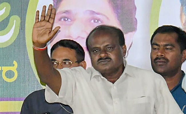 'Monsoon Has Been Good, Tamil Nadu To Get Cauvery Water': HD Kumaraswamy