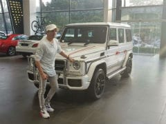 Actor Jimmy Sheirgill Takes Delivery Of His Mercedes-AMG G63
