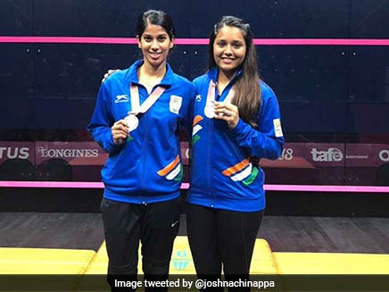 CWG 2018: Medallists Joshna Chinappa, Dipika Pallikal Arrive Home To Warm Welcome